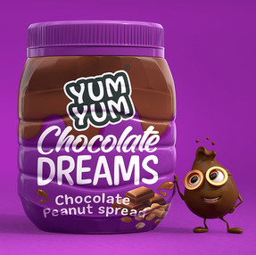 Yum Yum Chocolate Dreams Peanut Butter