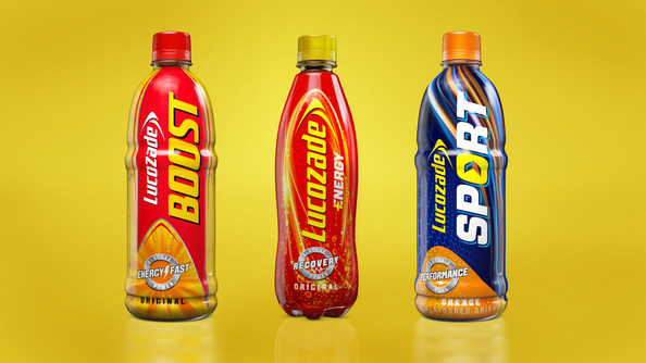Lucozade Product Range Pitch