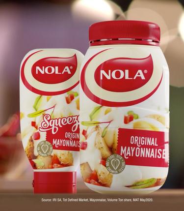 Nola Mayonnaise Squeeze & Original