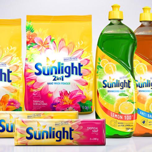 Unilever - Home Care Product Range