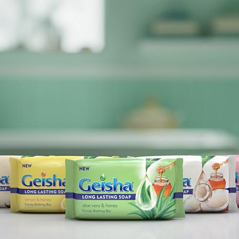 Geisha Soap Bar Range