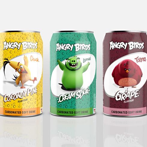 Angry Birds Soda Can Range