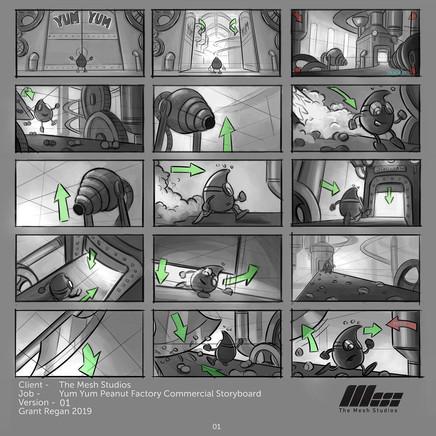 Refined Storyboard