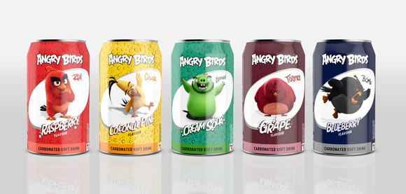 Lentas Beverages - Angry Birds Promotion