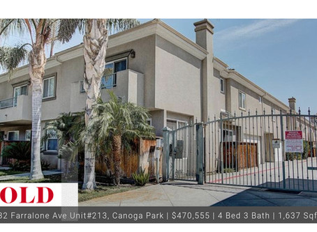 Sold 2003 Built Canoga Park Townhome!