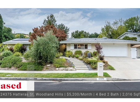 Leased In Woodland Hills Modern 4 Bedroom!