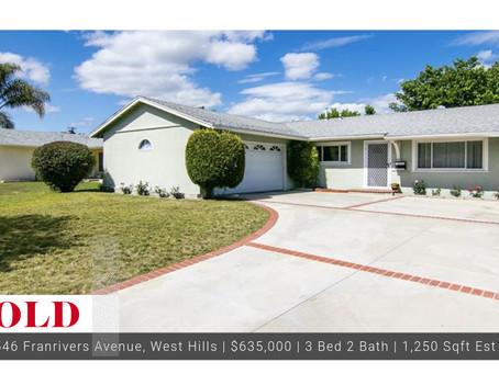 Sold In West Hills!