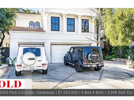 #Throwback 2018 Sold Calabasas Gated Bellagio Home