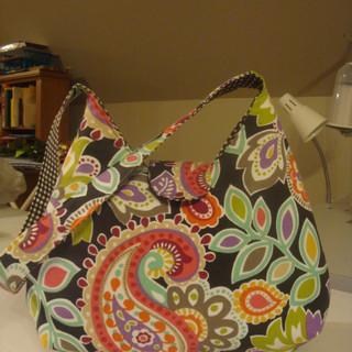 Paisley Print Handbag
