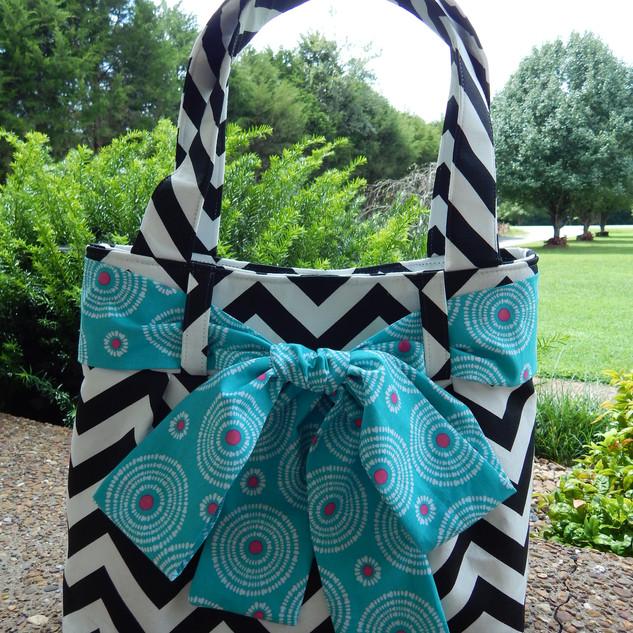 Belted Bow Handbag