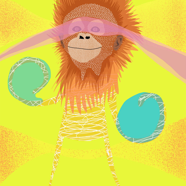 ANIMAL SERIES - ORANGUTAN