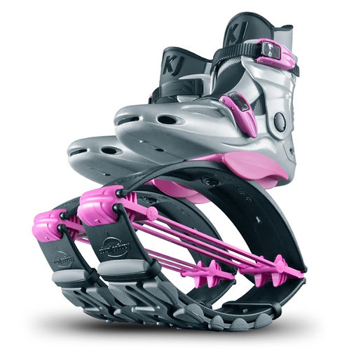 KJ Power Shoes Special Edition for Juniors in Silver/Pink