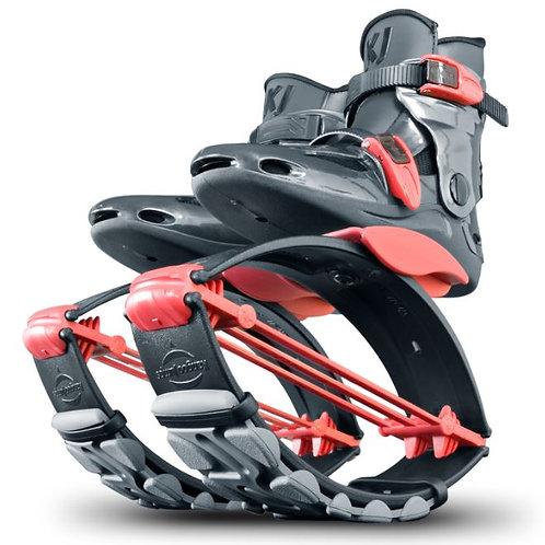 KJ Power Shoe for Juniors in Red/Titanium