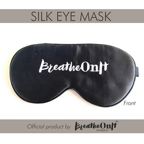 SILK EYE MASK by BreatheOnIt™
