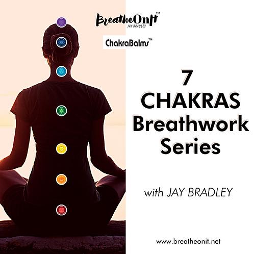 7 CHAKRAS Breathwork Series