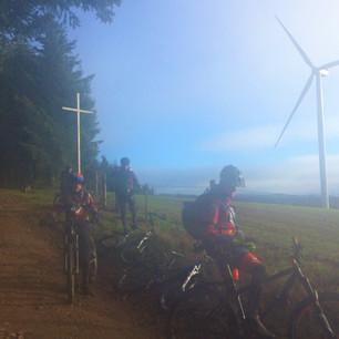 Valsonne, éoliennes et super rando
