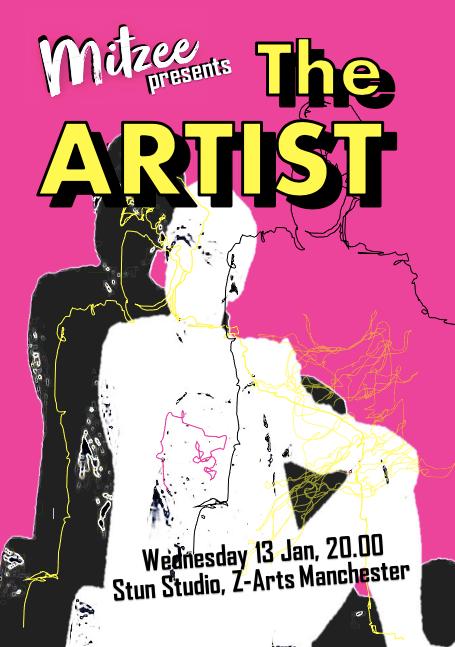 Mitzee The ARTIST Poster (Stun Studio 20