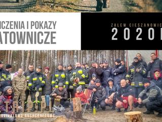Ćwiczenia Ratownicze - Zalew Cieszanowicki