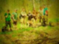 Marsz na 100 km - Ekipa Śmiałków w Kompleci