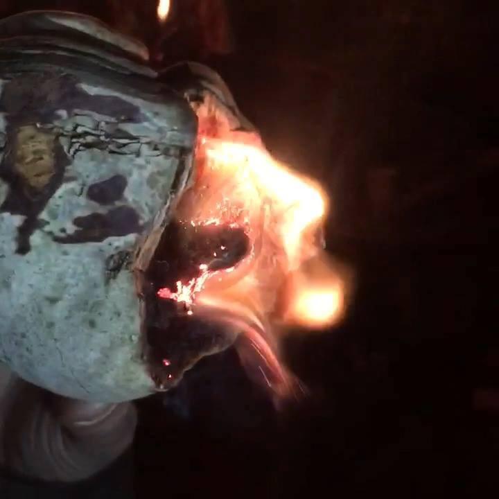 Rozpalanie Ognia Przy pomocy Huby