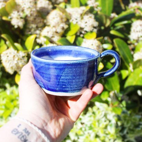 Flat White Handmade Mug