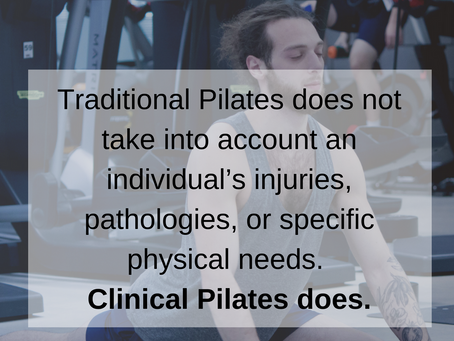 3 Ways Clinical Pilates Helps Alleviate your Pain when Traditional Pilates won't