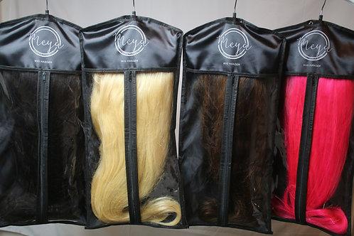 Long Luxury Satin Wig & Hair Extensions Storage