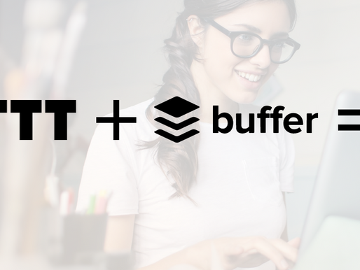 AUTOMATE YOUR INBOUND MARKETING WITH IFTTT + BUFFER
