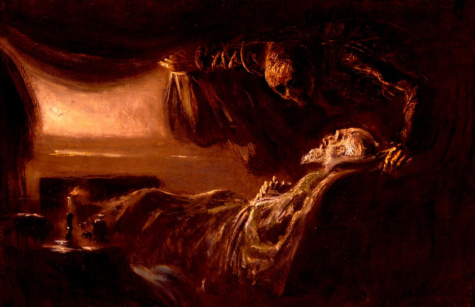Ladislav_Mednyánszky_-_Old_Man's_Death._
