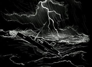 """""""Out of the Storm"""" by William Hope Hodgson (A Rare and Forgotten Story Transcription)"""