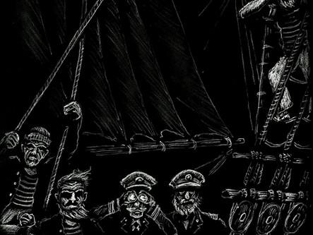 """The 'Shamraken' Homeward-Bounder"" by William Hope Hodgson"