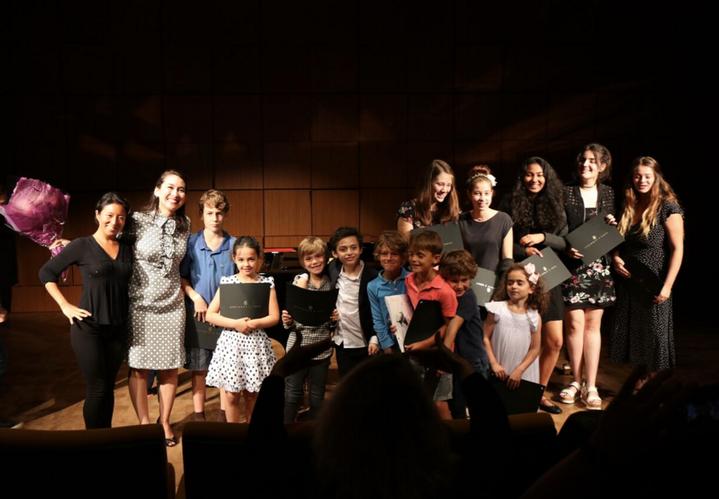 Student recital Steinway Hall