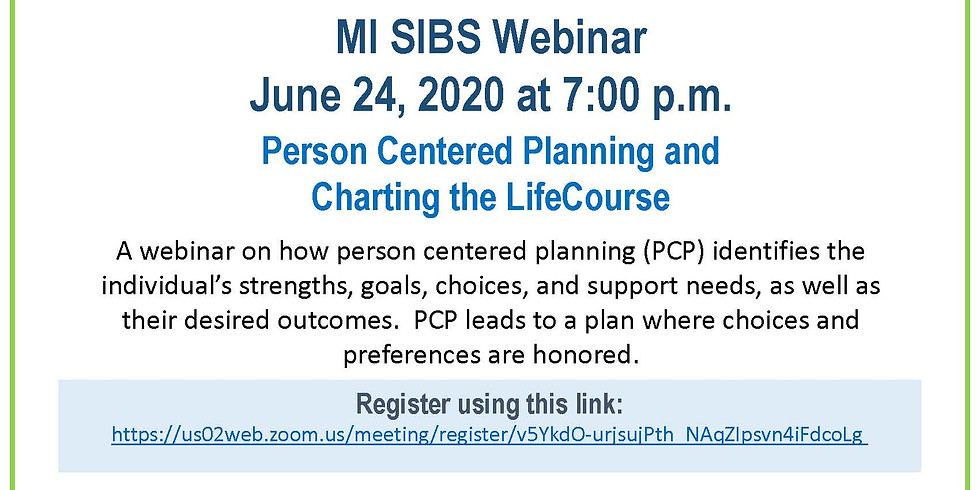 Person Centered Planning and Charting the LifeCourse