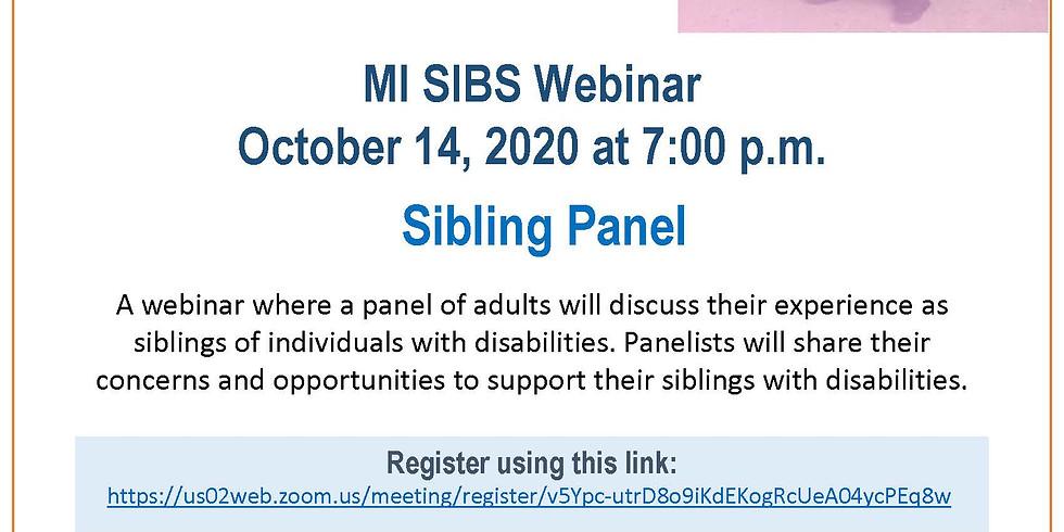 Adult Sibling Panel