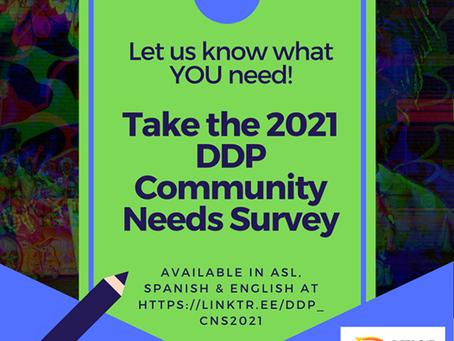 Detroit Disability Power Community Needs Survey