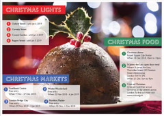 Lights, food and markets