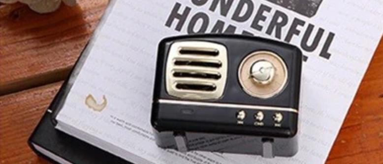 Rétrosound - Enceinte portative bluetooth