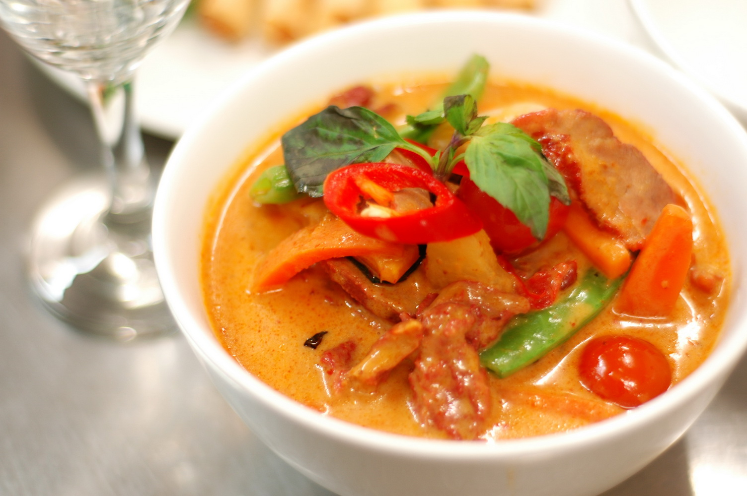 Red Curry Duck