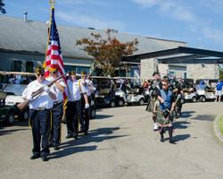 VFW 7696 Color Guard & Pipes