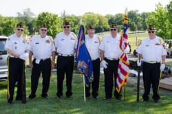 VFW Post 7696 Color Guard