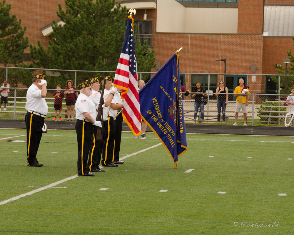 Color Guard Salute