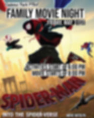 Movie Night Flyer_Poster Spider Man_Page