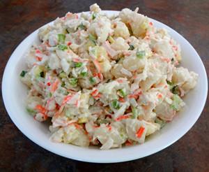Michelle's Famous Seafood Salad