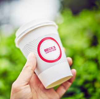 BECK'S COFFEE SHOP テイクアウトカップ