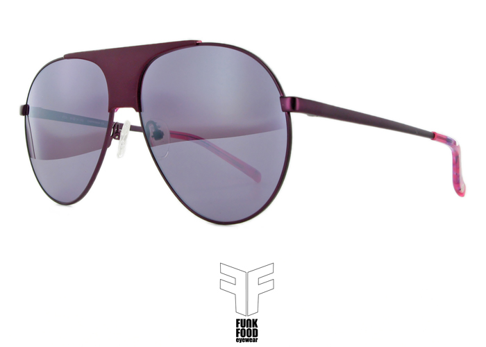 Caipirinha C3 deep purple BASE 2 pink flash mirror lenses