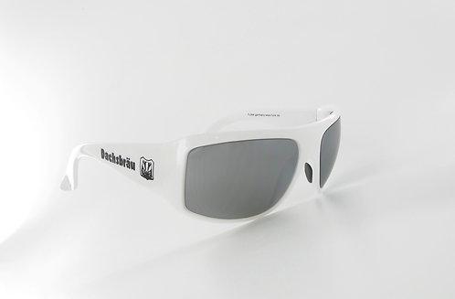 FUNK-Dachbräu Sonnenbrille weiss