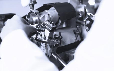 temple cutting machine