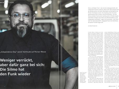 """DOZ 08/18 """"Die Silmo hat den FUNK wieder"""""""