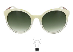Mochito C2 pearl n clear with green gradient lenses Front