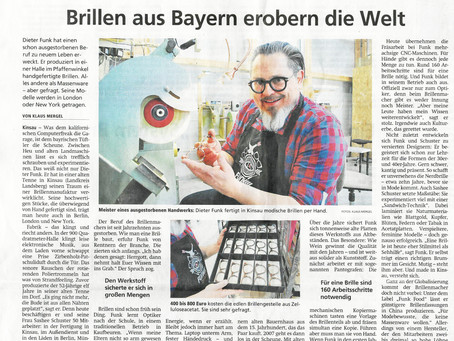Brillen aus Bayern erobern die Welt / Münchner Merkur